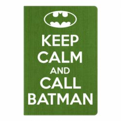 Блокнот А5 KEEP CALM and CALL BATMAN