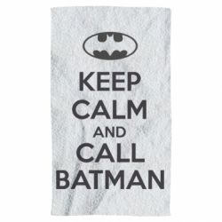 Полотенце KEEP CALM and CALL BATMAN
