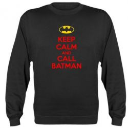 Реглан (свитшот) KEEP CALM and CALL BATMAN - FatLine