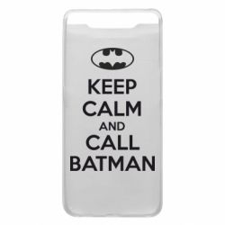 Чехол для Samsung A80 KEEP CALM and CALL BATMAN