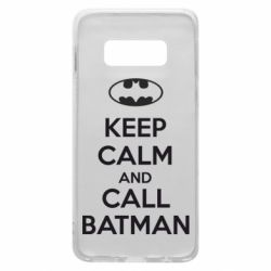 Чехол для Samsung S10e KEEP CALM and CALL BATMAN