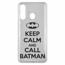 Чехол для Samsung M40 KEEP CALM and CALL BATMAN