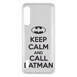 Чохол для Xiaomi Mi A3 KEEP CALM and CALL BATMAN