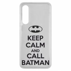 Чехол для Xiaomi Mi9 SE KEEP CALM and CALL BATMAN