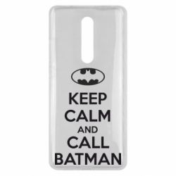 Чехол для Xiaomi Mi9T KEEP CALM and CALL BATMAN