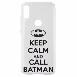 Чехол для Xiaomi Mi Play KEEP CALM and CALL BATMAN