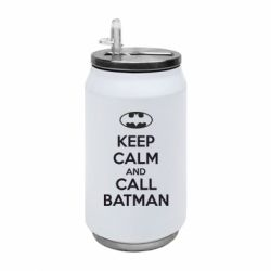 Термобанка 350ml KEEP CALM and CALL BATMAN