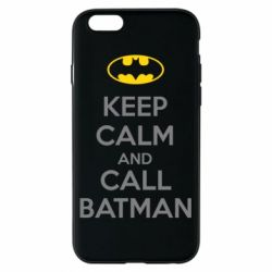 Чехол для iPhone 6/6S KEEP CALM and CALL BATMAN