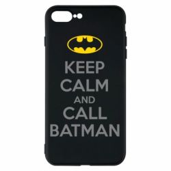 Чехол для iPhone 7 Plus KEEP CALM and CALL BATMAN