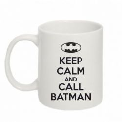 Кружка 320ml KEEP CALM and CALL BATMAN