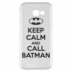 Чехол для Samsung A5 2017 KEEP CALM and CALL BATMAN