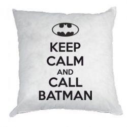 Подушка KEEP CALM and CALL BATMAN - FatLine