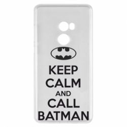 Чехол для Xiaomi Mi Mix 2 KEEP CALM and CALL BATMAN