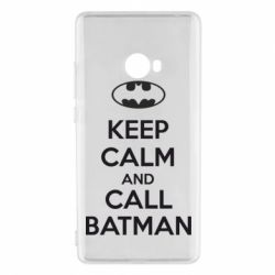 Чехол для Xiaomi Mi Note 2 KEEP CALM and CALL BATMAN