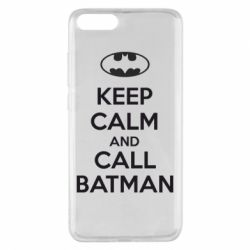 Чехол для Xiaomi Mi Note 3 KEEP CALM and CALL BATMAN