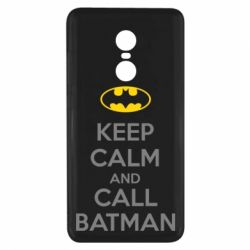 Чехол для Xiaomi Redmi Note 4x KEEP CALM and CALL BATMAN