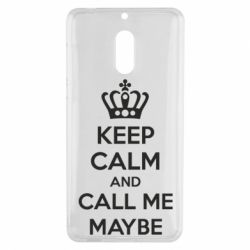 Чехол для Nokia 6 KEEP CALM and CALL ME MAYBE - FatLine