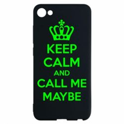Чехол для Meizu U10 KEEP CALM and CALL ME MAYBE - FatLine