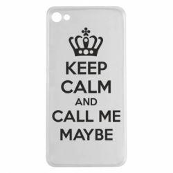 Чехол для Meizu U20 KEEP CALM and CALL ME MAYBE - FatLine