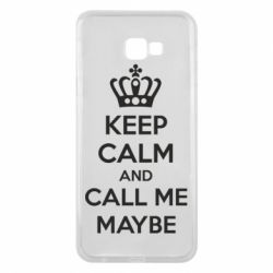 Чехол для Samsung J4 Plus 2018 KEEP CALM and CALL ME MAYBE