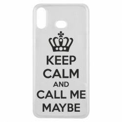 Чехол для Samsung A6s KEEP CALM and CALL ME MAYBE