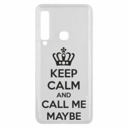 Чехол для Samsung A9 2018 KEEP CALM and CALL ME MAYBE