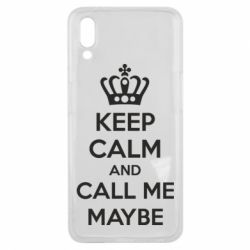 Чехол для Meizu E3 KEEP CALM and CALL ME MAYBE - FatLine