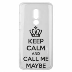 Чехол для Meizu V8 KEEP CALM and CALL ME MAYBE - FatLine