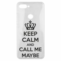 Чехол для Xiaomi Mi8 Lite KEEP CALM and CALL ME MAYBE