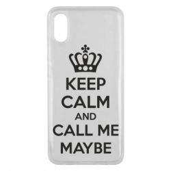 Чехол для Xiaomi Mi8 Pro KEEP CALM and CALL ME MAYBE