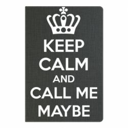 Блокнот А5 KEEP CALM and CALL ME MAYBE