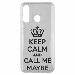 Чехол для Samsung M40 KEEP CALM and CALL ME MAYBE