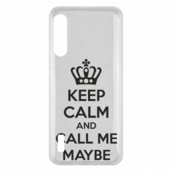 Чохол для Xiaomi Mi A3 KEEP CALM and CALL ME MAYBE