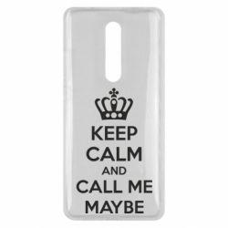 Чехол для Xiaomi Mi9T KEEP CALM and CALL ME MAYBE