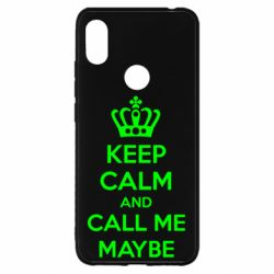 Чехол для Xiaomi Redmi S2 KEEP CALM and CALL ME MAYBE
