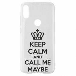 Чехол для Xiaomi Mi Play KEEP CALM and CALL ME MAYBE