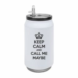 Термобанка 350ml KEEP CALM and CALL ME MAYBE