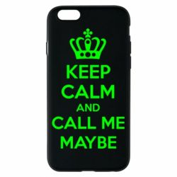 Чехол для iPhone 6/6S KEEP CALM and CALL ME MAYBE