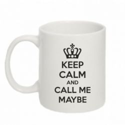 Кружка 320ml KEEP CALM and CALL ME MAYBE