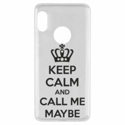 Чехол для Xiaomi Redmi Note 5 KEEP CALM and CALL ME MAYBE