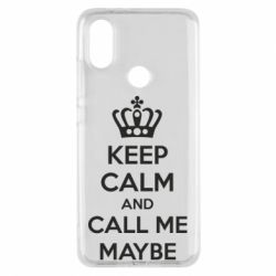 Чехол для Xiaomi Mi A2 KEEP CALM and CALL ME MAYBE