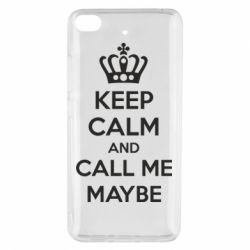 Чехол для Xiaomi Mi 5s KEEP CALM and CALL ME MAYBE