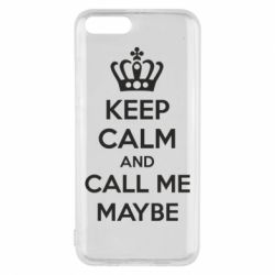 Чехол для Xiaomi Mi6 KEEP CALM and CALL ME MAYBE