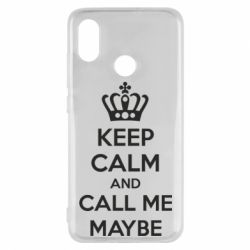 Чехол для Xiaomi Mi8 KEEP CALM and CALL ME MAYBE