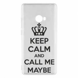 Чехол для Xiaomi Mi Note 2 KEEP CALM and CALL ME MAYBE