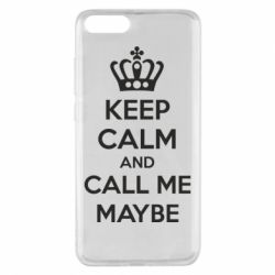 Чехол для Xiaomi Mi Note 3 KEEP CALM and CALL ME MAYBE