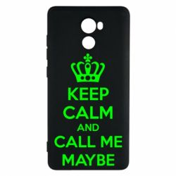 Чехол для Xiaomi Redmi 4 KEEP CALM and CALL ME MAYBE - FatLine