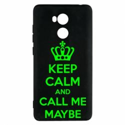 Чехол для Xiaomi Redmi 4 Pro/Prime KEEP CALM and CALL ME MAYBE - FatLine
