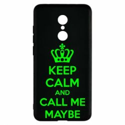 Чехол для Xiaomi Redmi 5 KEEP CALM and CALL ME MAYBE - FatLine