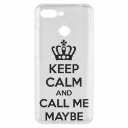 Чехол для Xiaomi Redmi 6 KEEP CALM and CALL ME MAYBE - FatLine